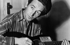 Folk singer Woody Guthrie wrote the well-known song 'This Land is Your Land' in 1940.