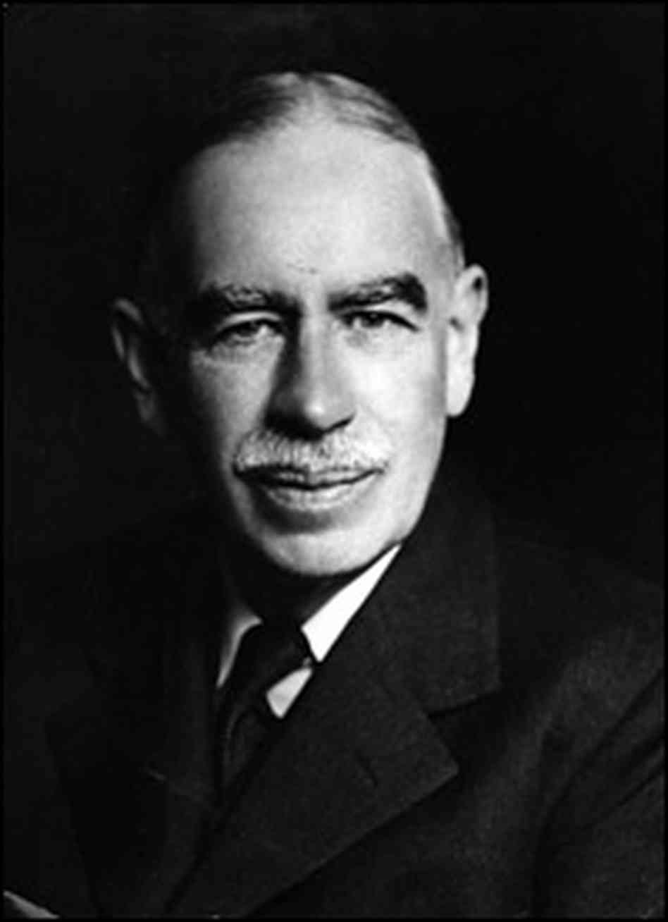 John Maynard Keynes taught the government to spend (Source: NPR)