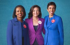 From left: Condoleezza Rice, Sheryl Sandberg, and Anna Maria Chavez (Credit: Parade)