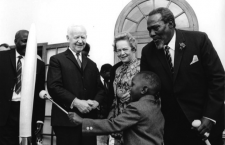 Kenyatta, as the son of the first president of an independent Kenya, grew up quite conscious of the colonial heritage and politics of his country.