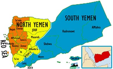 Political Map Of Yemen.North And South Yemen The Marriage That Wasn T Meant To Be