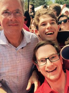 The aforementioned selfie with Jeb, who literally spent at least a half hour taking pictures with everyone there.