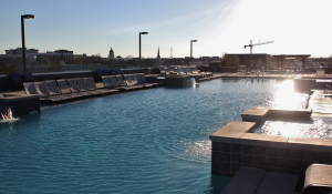 The Standard's rooftop pool.