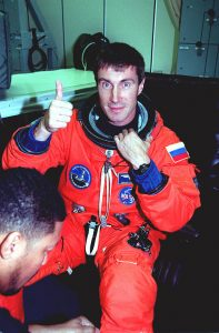 Sergei Krikalev upon his return from his 803 day-long space journey. Photo Source: universetoday.com