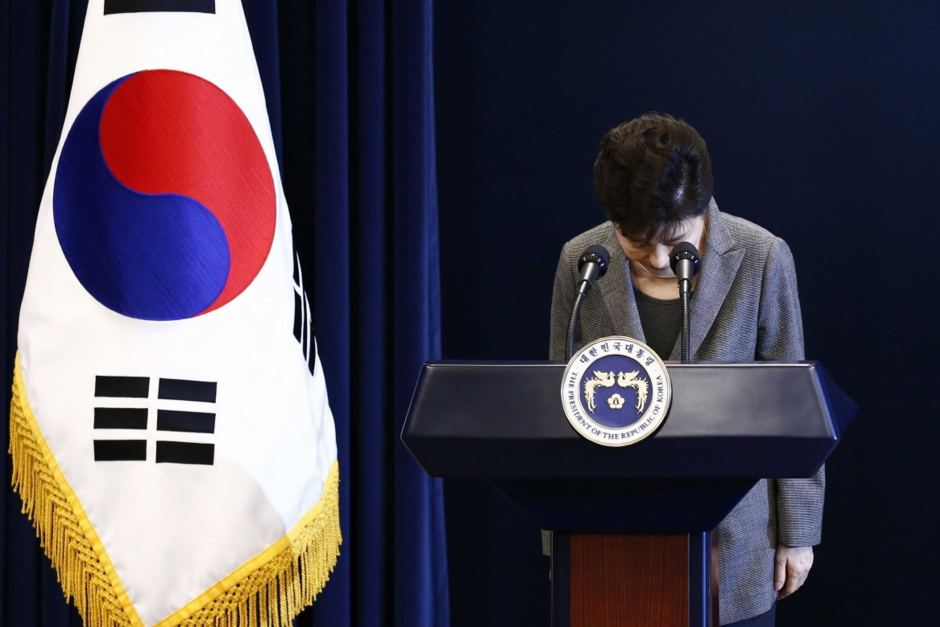 Park Geun-hye will now wait on a ruling of the Constitutional Court. Source: AP