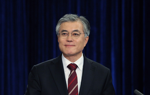 Current Presidential Frontrunner Moon Jae-in.  Source: alchetron.com